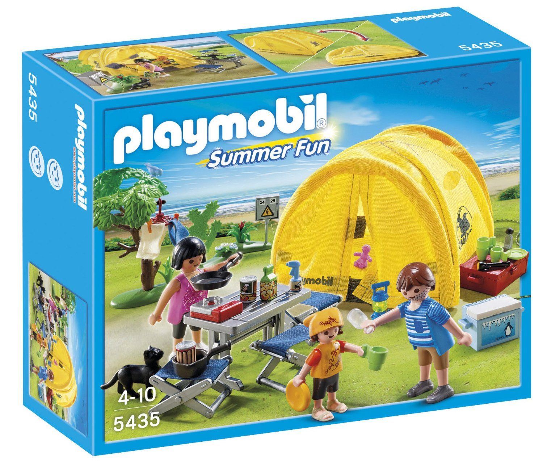 Famille en Camping de Playmobil