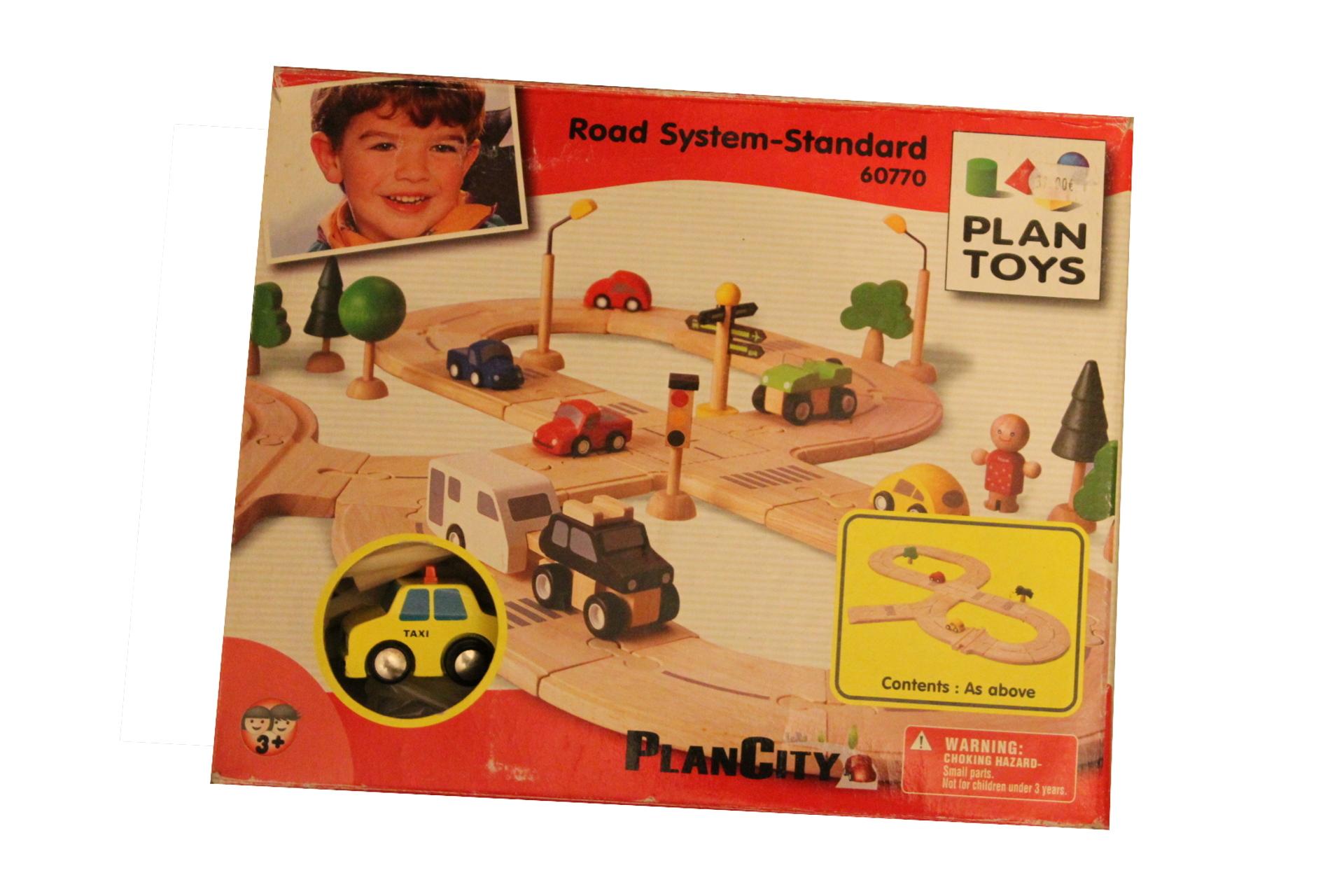 Jeu de circuit classique (Plan Toys)